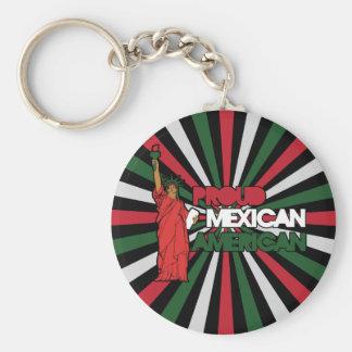 Mexicoamericanos orgulloso llavero
