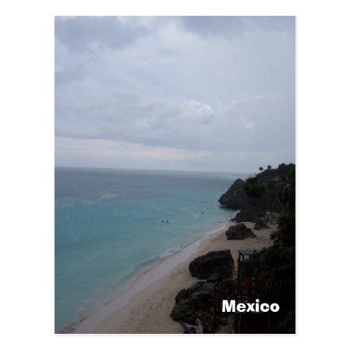 mexicobeach, Mexico, Mexico Postcard