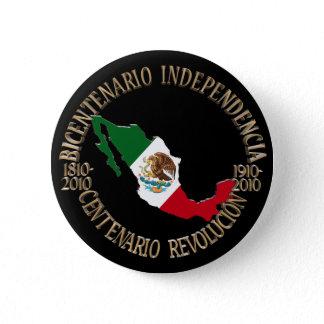 Mexico's Bicentennial & Centennial Celebration Pinback Button