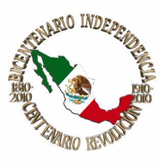 Mexico's Bicentennial & Centennial Celebration Statuette