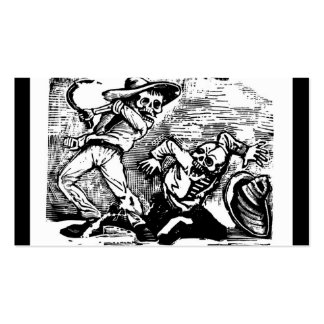 """Mexico's """"Day of the Dead."""" circa 1894 Double-Sided Standard Business Cards (Pack Of 100)"""