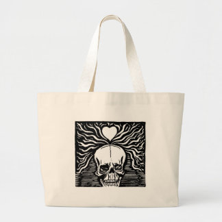 """Mexico's """"Day of the Dead"""" circa 1924 Large Tote Bag"""