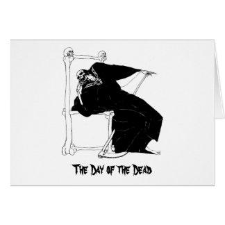 "Mexico's ""Day of the Dead"" circa 1929 Card"