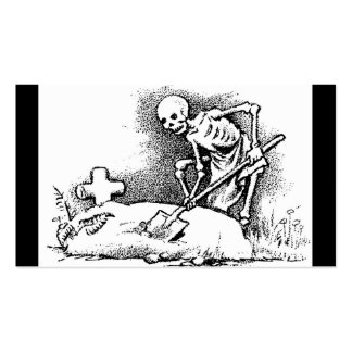 """Mexico's """"Day of the Dead"""" circa 1949 Double-Sided Standard Business Cards (Pack Of 100)"""
