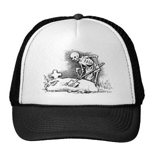 "Mexico's ""Day of the Dead"" circa 1949 Trucker Hat"