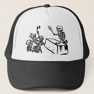 """Mexico's """"Day of the Dead"""" """"Dia de los Muertos"""" Trucker Hat"""