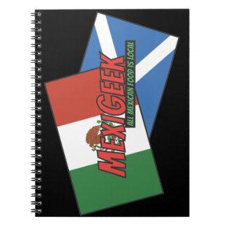 MexiGeek Black Notebook