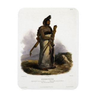 Mexkemahuastan jefe del Gros-Ventres del P Imán