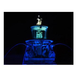 Meyer Circle Mermaid Fountain, Kansas City Postcard