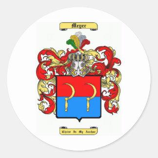 meyer classic round sticker