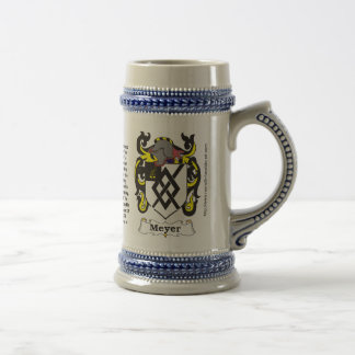 Meyer Family Coat of Arms Stein