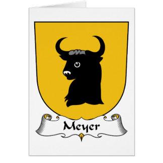 Meyer Family Crest Card