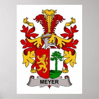 Meyer Family Crest Poster