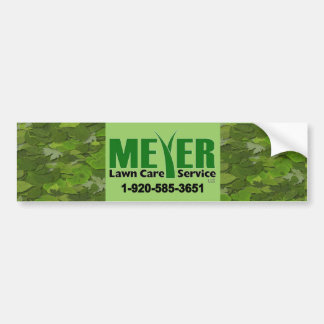 Meyer Landscape Bumper Sticker