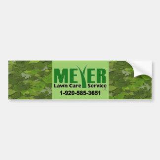 Meyer Landscape Bumper Stickers