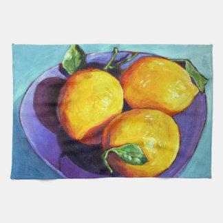 Meyer Lemons Hand Towels
