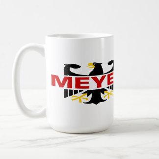 Meyer Surname Coffee Mug