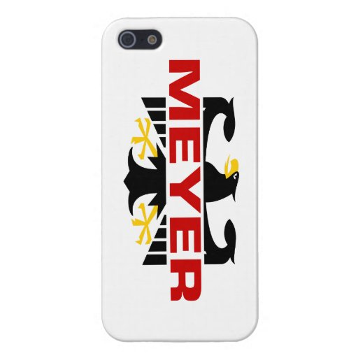 Meyer Surname Covers For iPhone 5