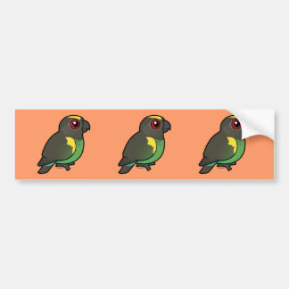 Meyer's Parrot Bumper Sticker