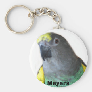 Meyers Parrot Keychain