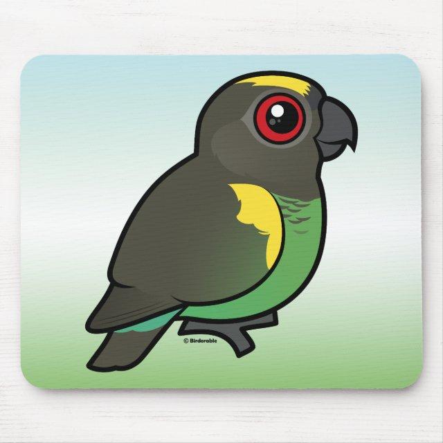 Birdorable Meyer's Parrot Mousepad