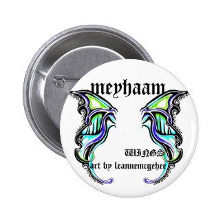 meyhaam, arte por el leannemcg… pin redondo 5 cm