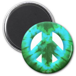 Meyoto Green Tie Dye Fridge Magnet