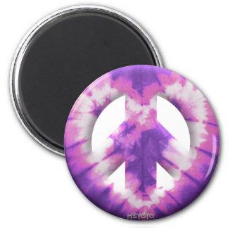 Meyoto Purple Tie Dye Magnets