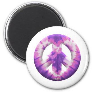 Meyoto Purple Tie Dye Fridge Magnet