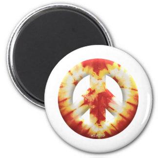 Meyoto Red Tie Dye Magnet