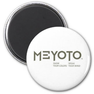 MEYOTO Show Your Colors  -  Speak Your Mind Magnets
