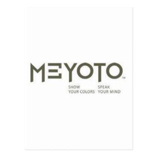 MEYOTO Show Your Colors  -  Speak Your Mind Postcard
