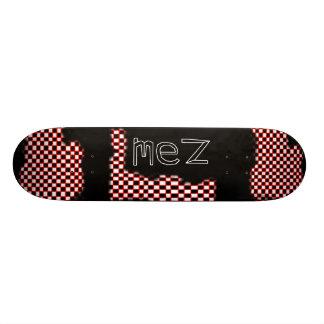 Mez Fading Checkers Deck Skate Boards