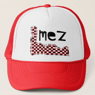 Mez Fading Checkers Hat