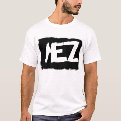 MEZ se descoloró camiseta