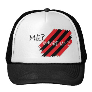 Mez Stripes Red and Black Hat