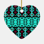 Mezcla #507 - Ornamento tribal Ornamento De Navidad