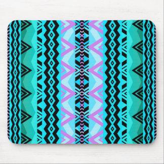 Mezcla #527 - Mousepad tribal azul