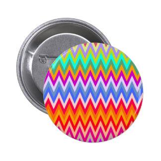 Mezcla #5 - botón de Chevron Pin Redondo De 2 Pulgadas