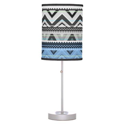 Mezcla #76 - Lámpara azteca azul