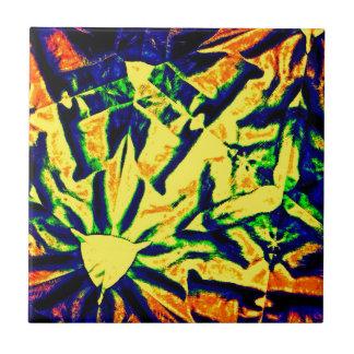 Mezcla abstracta del color teja cerámica