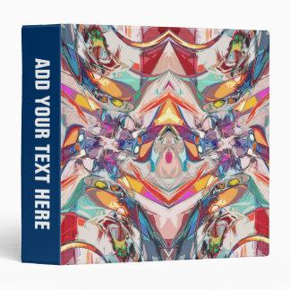 """Mezcla abstracta del color carpeta 1 1/2"""""""