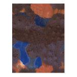 Mezcla abstracta del color tarjetas postales