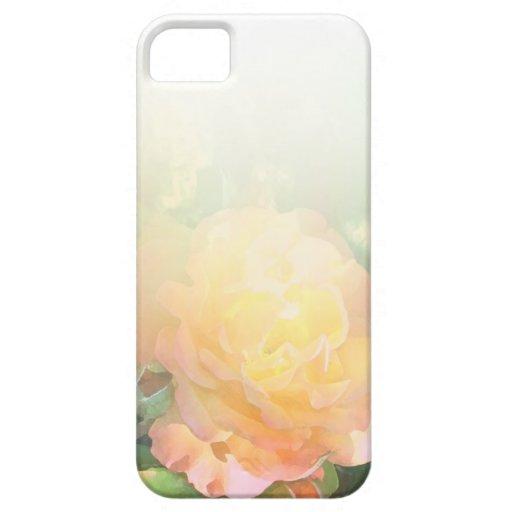 Mezcla anaranjada clara del rosa amarillo iPhone 5 Case-Mate carcasa