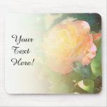 Mezcla anaranjada rosa clara del rosa tapetes de ratones