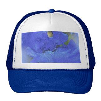 Mezcla azul del iris gorro