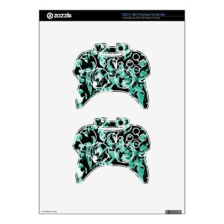 Mezcla azulverde, blanco y negro - SK Mando Xbox 360 Skins