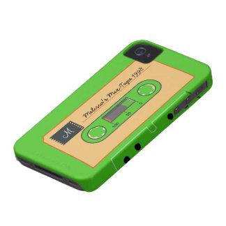 Mezcla-Cinta de encargo de Geen Case-Mate iPhone 4 Protectores