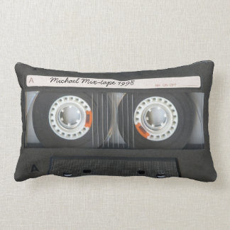 Mezcla-cinta retra personalizada del casete cojines