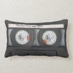 Mezcla-cinta retra personalizada del casete cojin